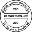 Officially approved Porsche Club 200